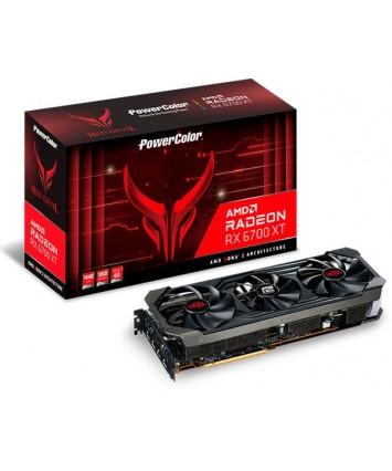 PowerColor Radeon RX 6700 XT Red Devil,12GB GDDR6,HDMI,3x DP (AXRX 6700XT 12GBD6-3DHE/OC)