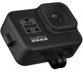GoPro Pouzdro + pásek na nošení pro HERO8 Black - Blackout (oficiální příslušenství Go) černý